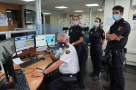 El Jefe Superior de Policía en Baleares felicita por la emisora a todos sus agentes la fiesta del patrón