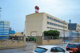 Imagen de la central de Endesa en la ciudad de Ibiza