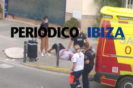 Herida una mujer por el impacto de una mesa que salió volando en Ibiza
