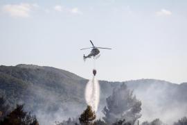 """La Aemet advierte que el índice de riesgo de incendio es """"extremo"""" y """"muy alto"""" en Formentera y zonas de Ibiza y Menorca"""
