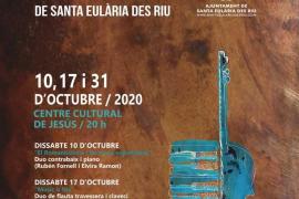Jesús albergará este mes los tres conciertos de la segunda edición del Festival de Música de Cambra de Santa Eulària