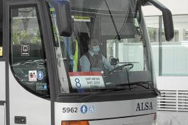 El déficit del transporte público será inferior a lo previsto por el Consell de Ibiza en abril