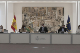 Consejo Ministros emn el Palacio de La Moncloa