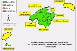 Las reservas hídricas se sitúan en el 62% y la unidad de demanda de Ibiza entra en prealerta
