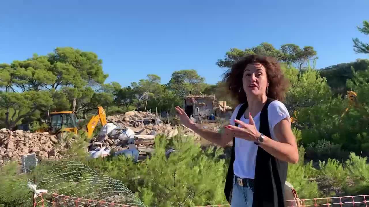 Beltrán denuncia que PSOE y UP de Sant Josep pasan del «crecimiento cero» a la «especulación absoluta»