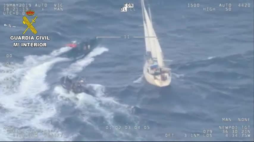 Dos detenidos en Ibiza formaban parte de un grupo interceptado con 600 kilos de cocaína