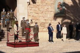 Fuerzas Armadas, Policía Nacional y Guardia Civil conmemoran el Día de la Fiesta Nacional en Baleares