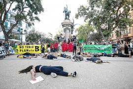 Extintionn Rebelion anuncian un acto artístico en la iglesia de Sant Jordi