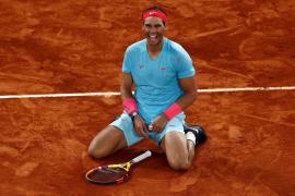 Rafa Nadal gana en Roland Garros