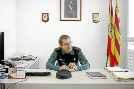 El comandante Enrique Gómez Bastida agradece a Ibiza la colaboración con la Guardia Civil