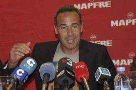 ALEX CORRETJA EN LA PRESENTACIÓN DE LOS PARTIDOS DE SEMIFINALES DE COPA DAVIS FRENTE A ESTADOS UNIDOS