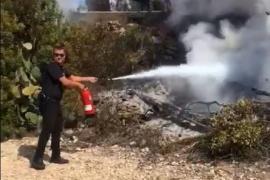 Los incendios han quemado más de 12 hectáreas en Ibiza este año