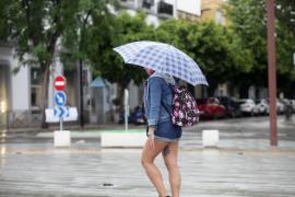 La lluvia llega hoy a las Pitiusas