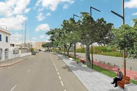 APB presenta a Vila su proyecto para integrar la Avenida de Santa Eulària en el puerto