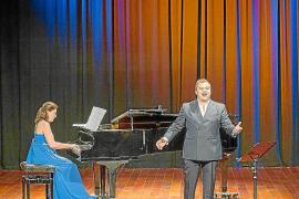 Recital «energético y exclusivo» de Carlos Tur y Elvira Ramón