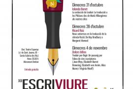 Las conferencias de Escriviure 2020 de Santa Eulària se centran en la traducción literaria