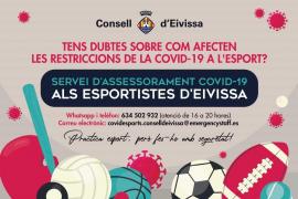 El Consell de Ibiza ofrece un servicio para resolver dudas sobre la Covid-19 para deportistas