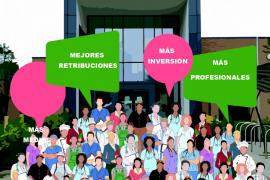 CSIF reivindicará este martes en los hospitales de Baleares una sanidad digna