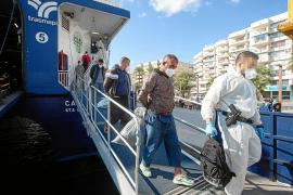 El tráfico de pateras se intensifica y deja cien inmigrantes en las Pitiusas en una semana
