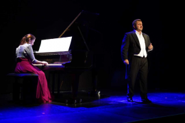 Vibrante recital lírico con raíces ibicencas en Sant Josep