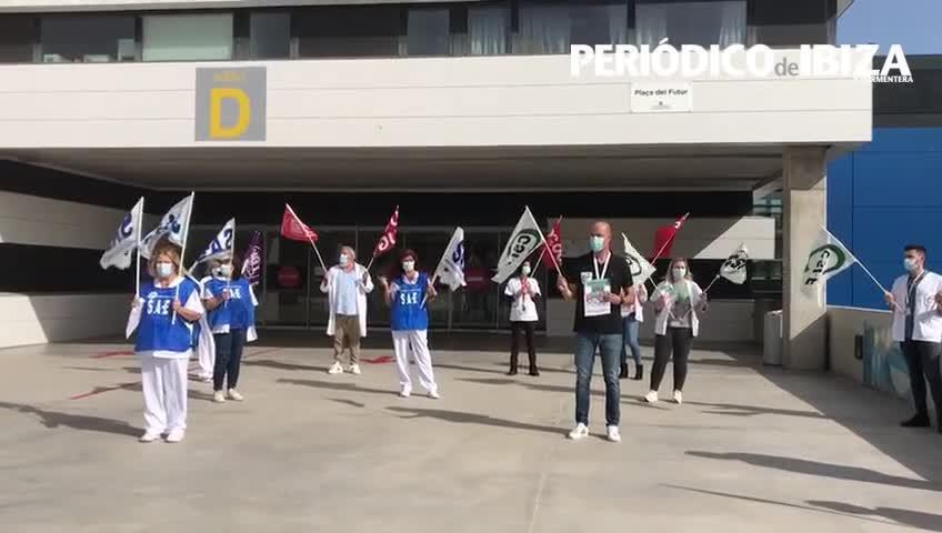 Ibiza se suma a las reivinidaciones de los sanitarios en los hospitales baleares
