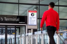 El aeropuerto de Heathrow empieza a ofrecer a los pasajeros test rápidos de COVID-19