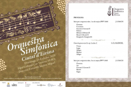 Can Ventosa acoge un concierto de la Orquestra Simfònica Ciutat d'Eivissa