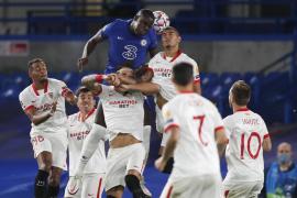 Tenso empate entre el Chelsea y el Sevilla