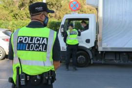 La Policía Local de Sant Antoni interpone 17 denuncias en la campaña de control de camiones y autobuses