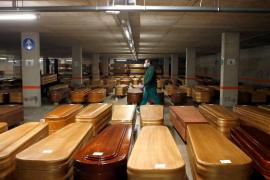 El INE contabiliza 57.817 muertes más de las esperadas en 2020, 23.607 más que las notificadas por COVID-19