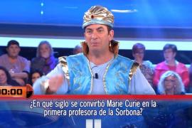 '¡Ahora caigo!' vive el primer gran enfado de Arturo Valls con un concursante