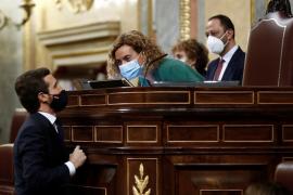 Casado anuncia que el PP votará no a la moción contra Sánchez
