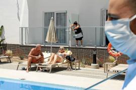Las pernoctaciones hoteleras se hunden un 76 % en Baleares entre agosto y septiembre y más de un 90% interanual