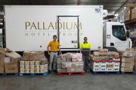 Fundación Abel Matutes y Palladium Hotel Group donan más de una tonelada de alimentos a Cáritas
