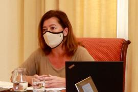 Francina Armengol: «Lamento muchísimo todo lo que ha ocurrido»
