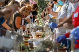 Las hierbas payesas protagonizan el segundo taller de 'Eating Ibiza'