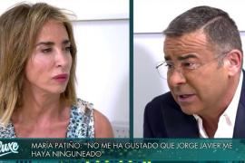 María Patiño vive su peor momento en Mediaset tras su enfrentamiento con Jorge Javier Vázquez