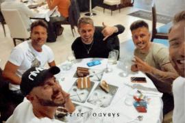 Los chicos de 'La isla de las tentaciones' se van de cena juntos en Madrid