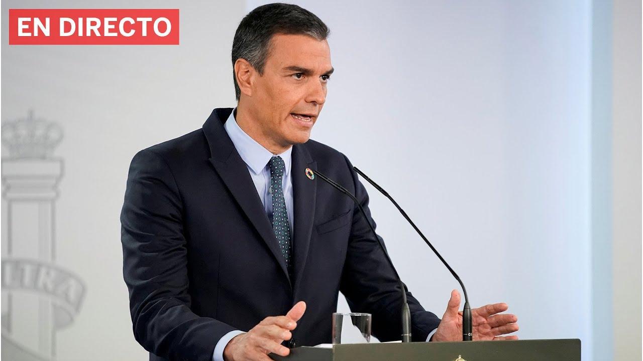 Así ha sido la comparecencia de Sánchez para anunciar el estado de alarma