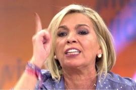 Carmen Borrego, fuera de sí, insulta a José Antonio Avilés: «¡Rastrero!»