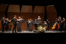 La Simfònica Ciutat d'Eivissa interpreta a Bach y Haendel en Can Ventosa, en imágenes. (Fotos: Marcelo Sastre)