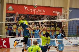Aplazado el encuentro entre el Ushuaïa Ibiza Voley y el Guaguas por positivos en el equipo canario