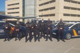 La Policía Nacional de Ibiza incorpora los nuevos zetas con tecnologías punteras