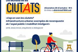 Vila organiza una charla sobre la evolución del espacio para las personas dentro de las ciudades
