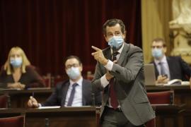 Tenso enfado entre Negueruela y Company en el Parlament