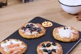 Las mini pizzas de Mercadona, perfectas para Halloween