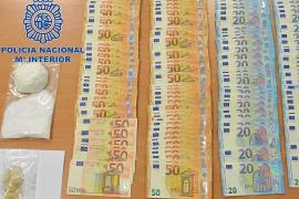Detenidos en Vila dos hombres cazados con 107 gramos de 'coca', 20 de ketamina y 5.000 €