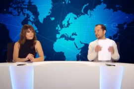 El informativo de Ángel Martín, de triunfar en Twitter a la tele y con pulla a Ferreras