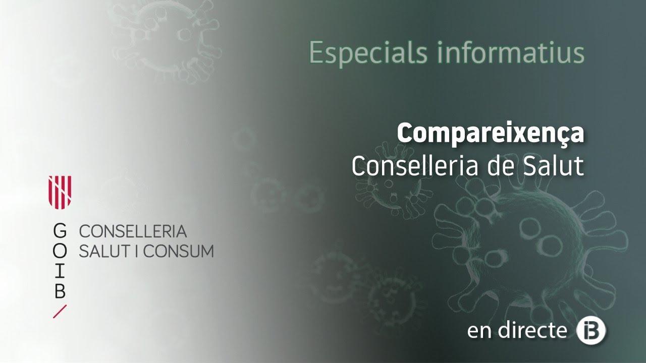 En directo | Rueda de prensa sobre la situación actual de la Covid-19 en Baleares