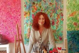 Marga Guasch, color y materia para disfrutar del momento y la vida